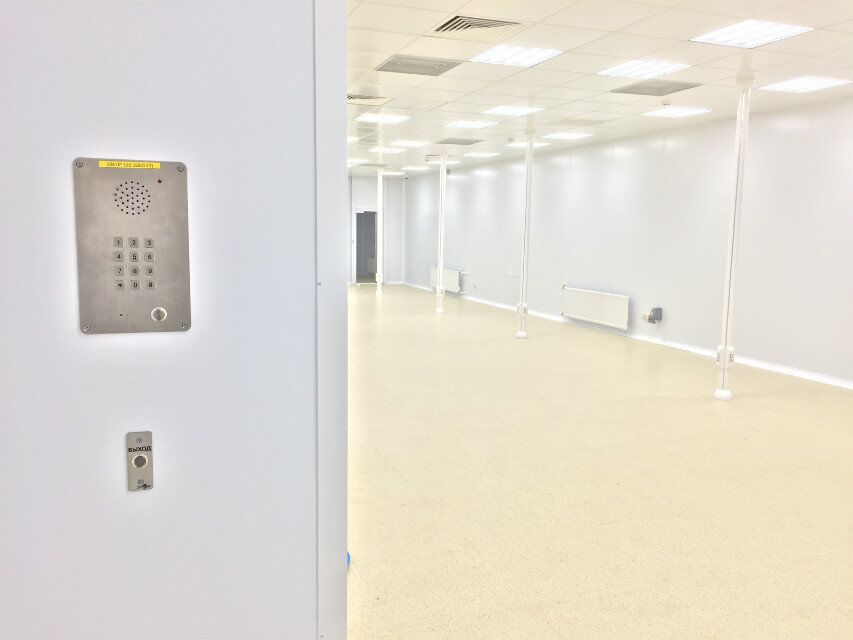 VoIP Cleanroom telephone