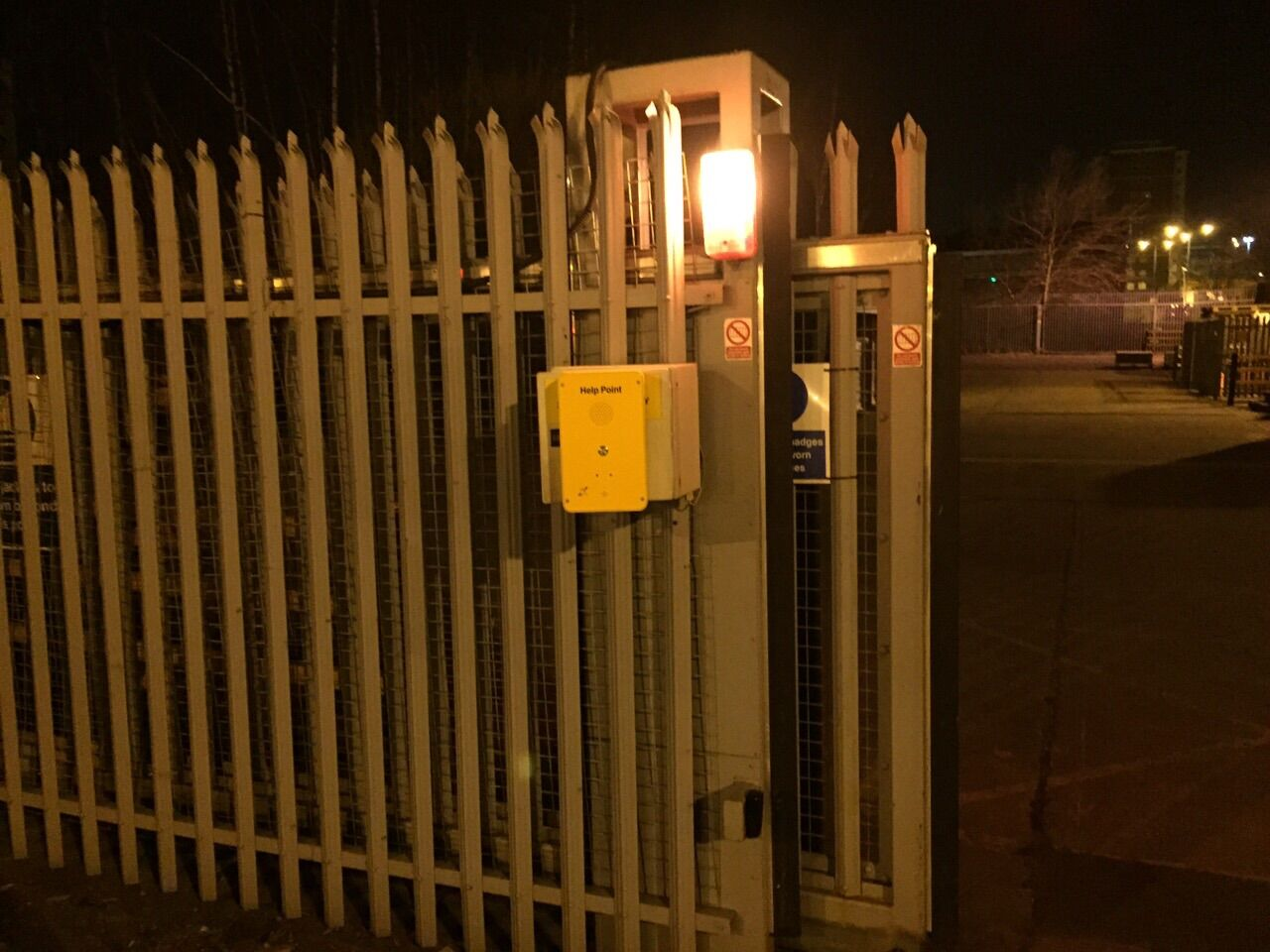 emergency help point intercom