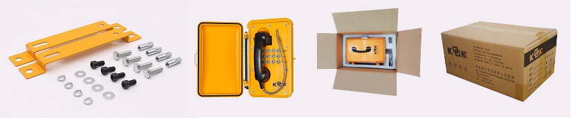telephone waterproof box and accessories