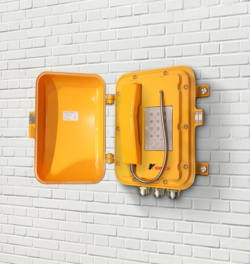 explosion proof telephone wall mounted