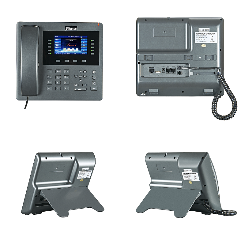 voip telephone front view