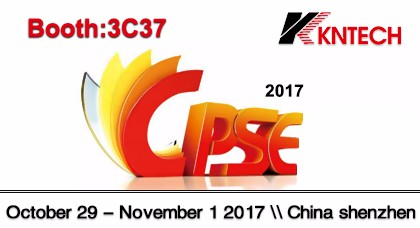Welcome to Join us Exhibition at CPSE exhibition on Oct 29th - Nov 1st, 2017