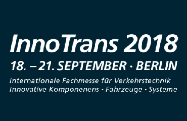 We would like to invite you to visit our booth on Inno Trans 2018