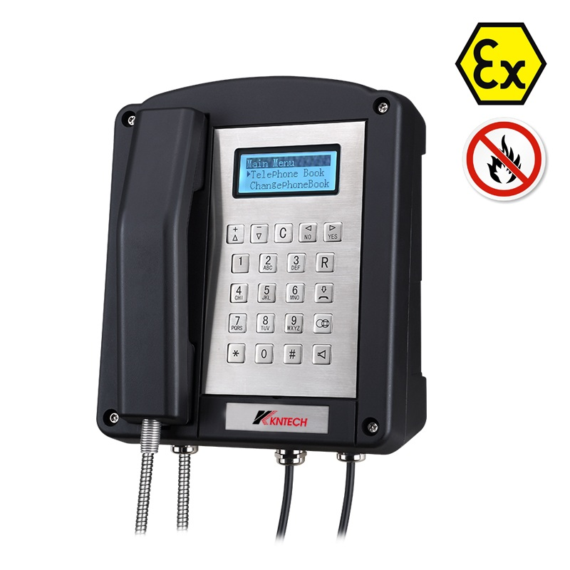 Intrinsically safe telephone